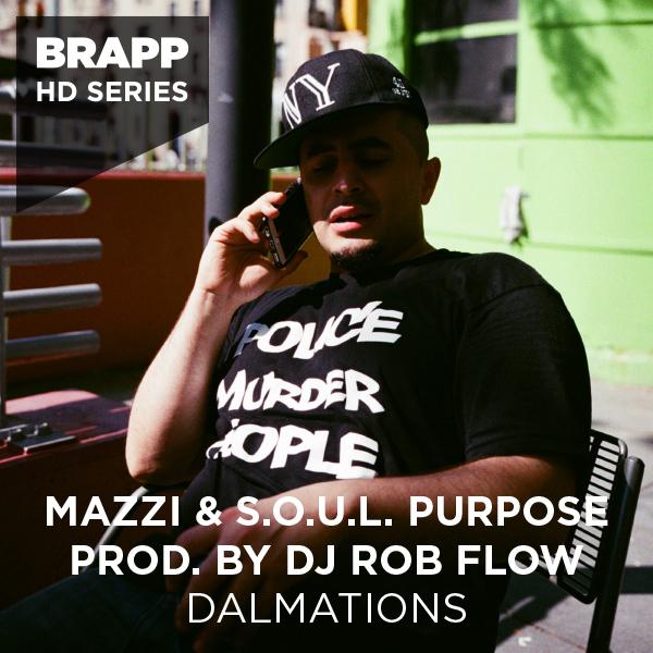 """Brapp Records BRAPPHDA0038 """"Dalmations"""" artwork"""
