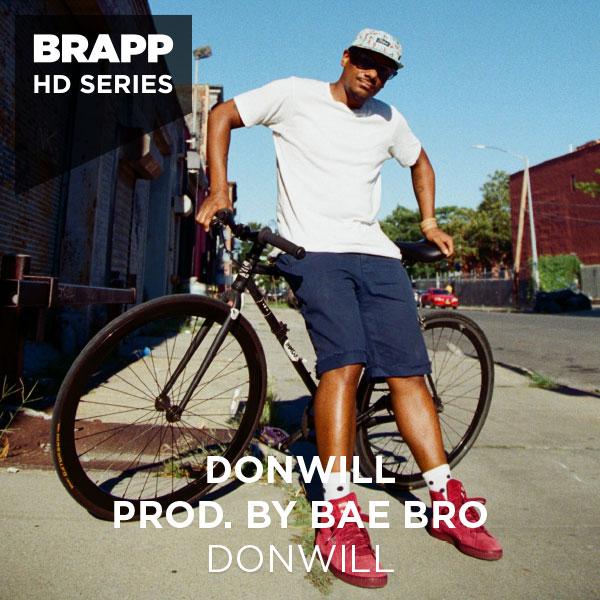 "Brapp Records BRAPPHDA0040 ""Donwill"" artwork"