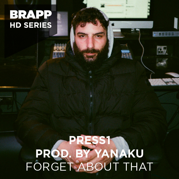 """Brapp Records BRAPPHDA0042 """"Forget About That"""" artwork"""