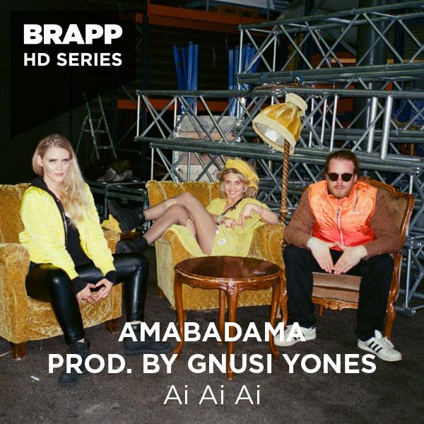 """Brapp Records BRAPPHDA0044 """"Ai Ai Ai"""" artwork"""