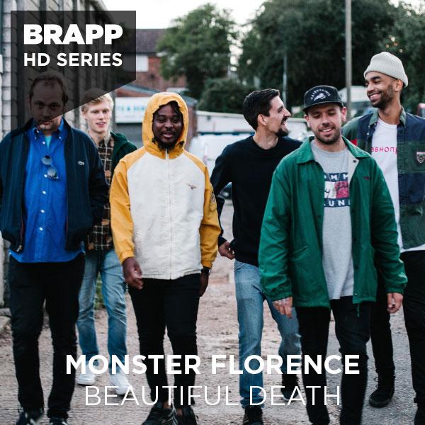 """Brapp Records BRAPPHDA0045 """"Beautiful Death"""" artwork"""