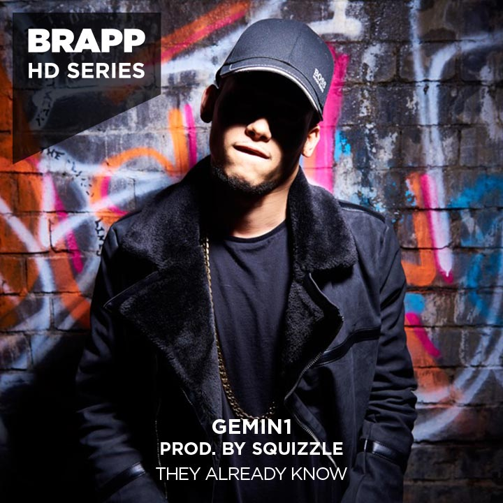 "Brapp Records BRAPPHDA0077 ""They Already Know"" artwork"