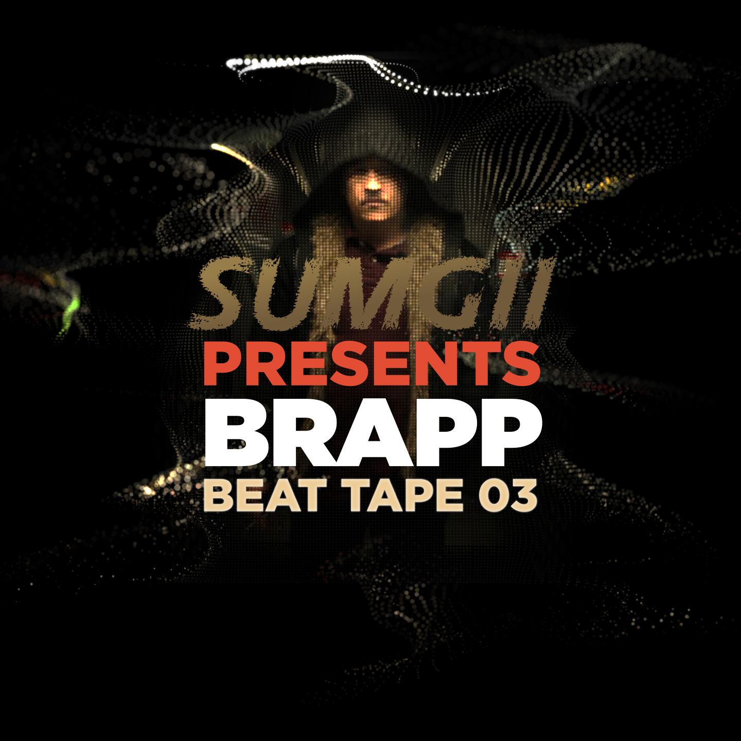 "Brapp Records BRAPPBT0003 ""Sumgii Presents: Brapp Beat Tape Vol. 3"" artwork"