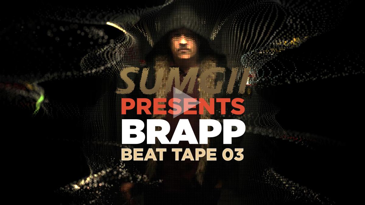 "Brapp HD BRAPPBTV0003 ""Sumgii Presents: Brapp Beat Tape Vol. 3"" artwork"