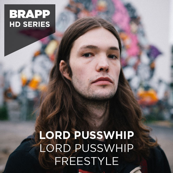 "Brapp Records BRAPPHDA0007 ""Lord Pusswhip Freestyle"" artwork"