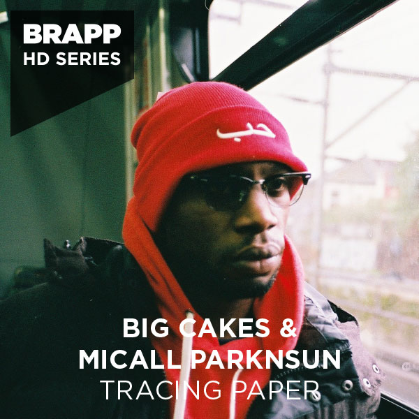 "Brapp Records BRAPPHDA0009 ""Tracing Paper (C Thru Dem)"" artwork"