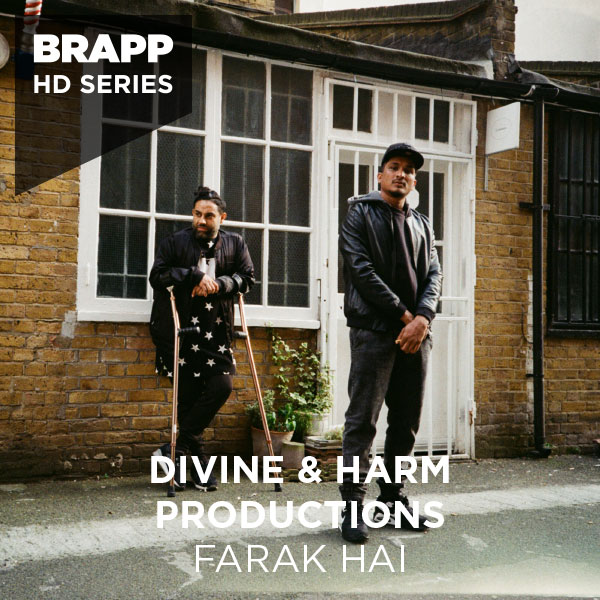 "Brapp Records BRAPPHDA0013 ""Farak Hai"" artwork"
