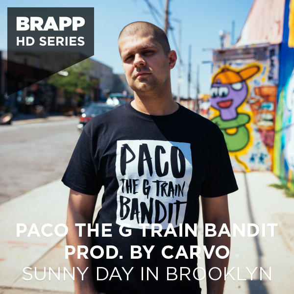 "Brapp Records BRAPPHDA0018 ""Sunny Day in Brooklyn"" artwork"