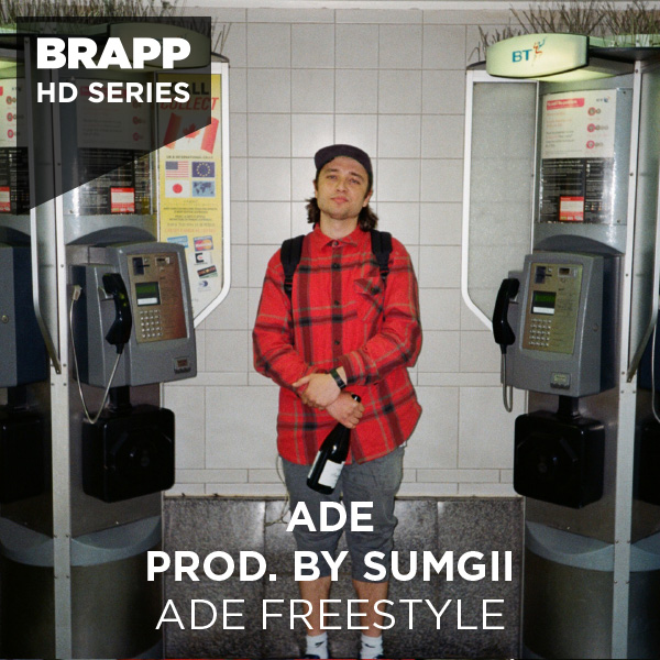 "Brapp Records BRAPPHDA0024 ""ADE Freestyle"" artwork"