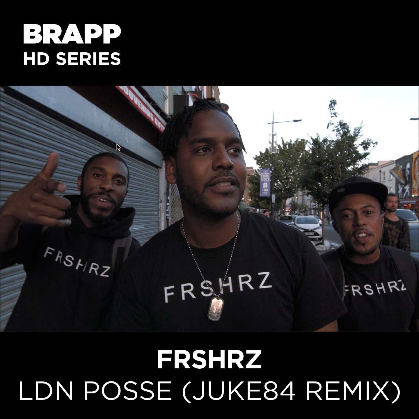 "Brapp Records BRAPPHDA0029 ""LDN Posse (Juke84 Remix)"" artwork"