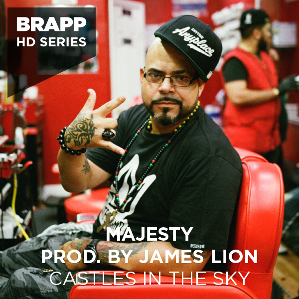 "Brapp Records BRAPPHDA0028 ""Castles In The Sky"" artwork"